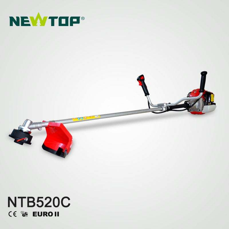 CE GS approved farming machine 52cc gasoline brush cutter in grass trimmer