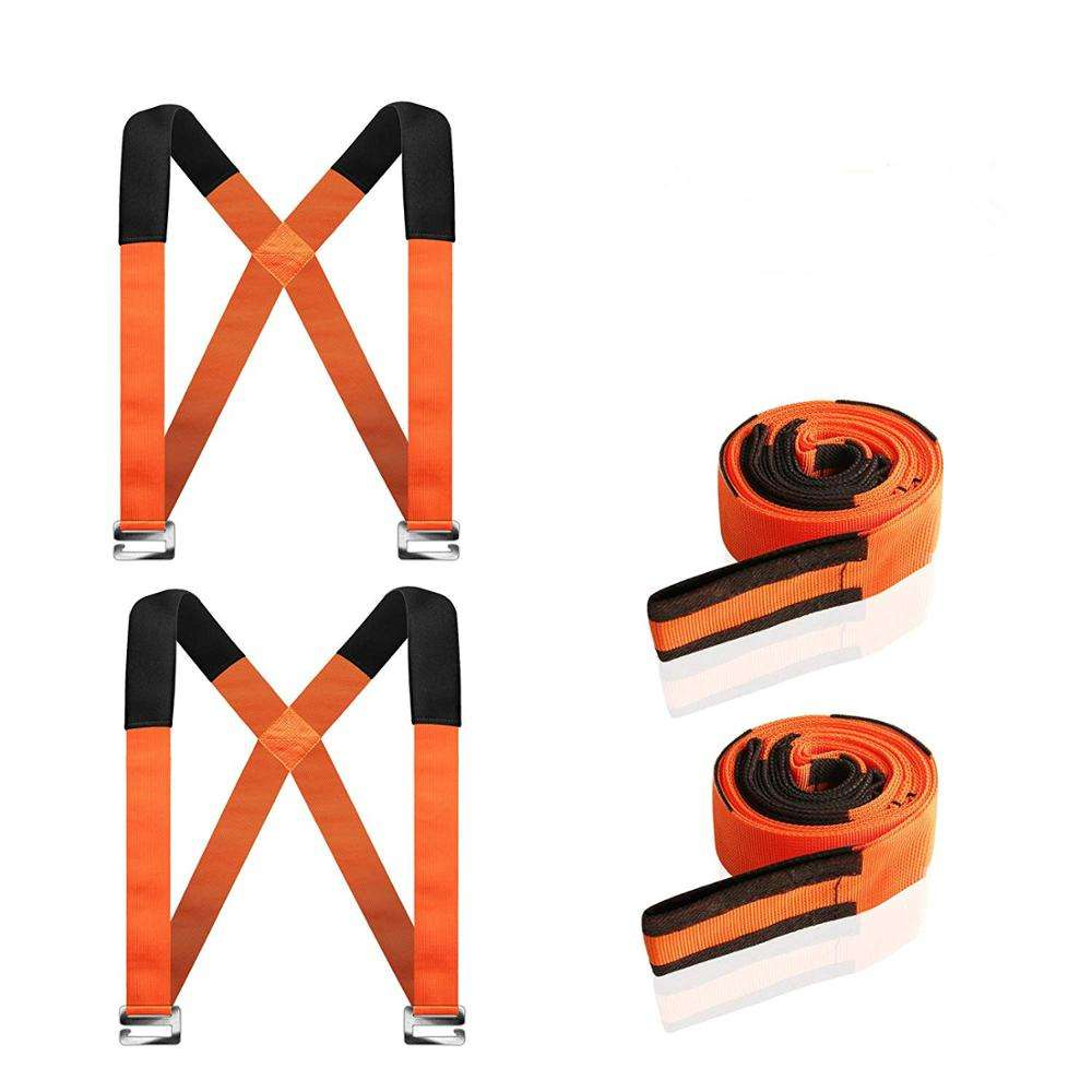 Moving Straps 2-Person Lifting and Moving System Adjustable Shoulder Lifting Carrying and Moving Straps Easily Move Lift Carry