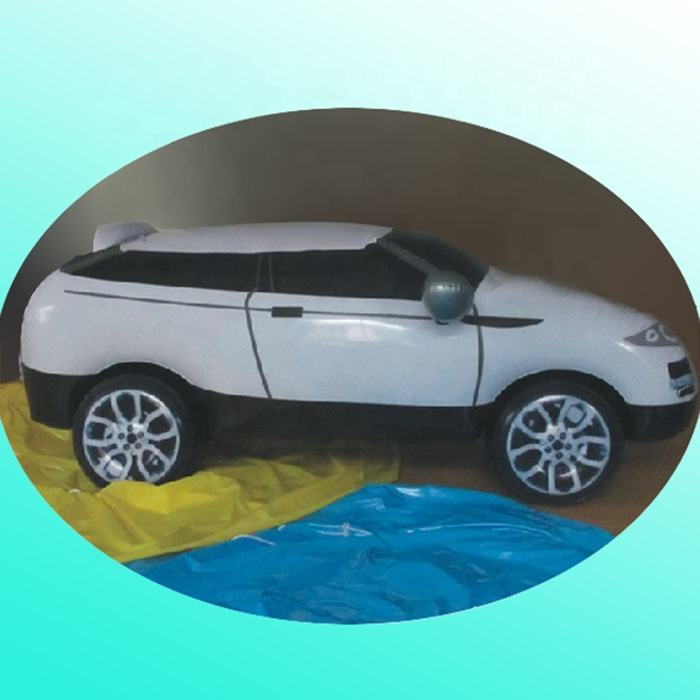 promotional kids toy inflatable pvc model car for advertising