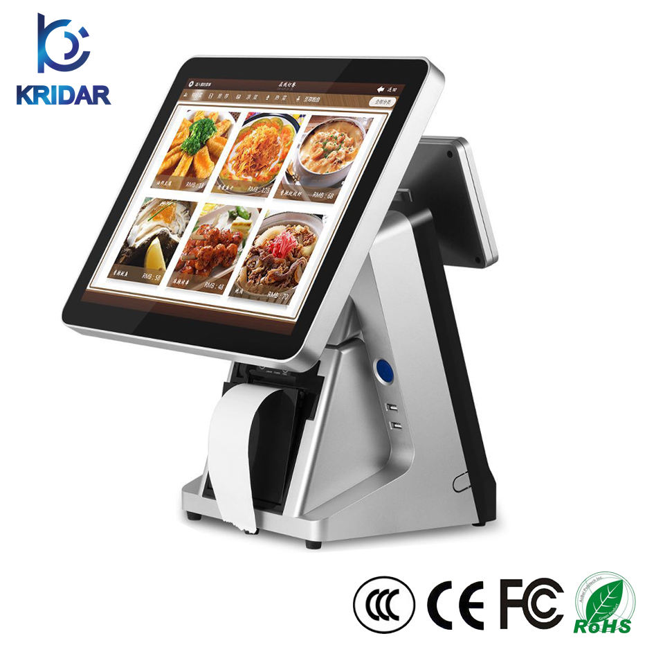 Wholesale Smooth Running POS Machine/15inch Electronic Cash Register/Touch Screen Windows POS Terminal