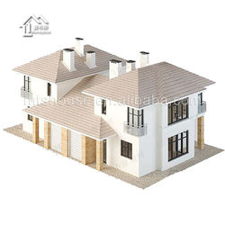 New design light steel villa design with 3 bedroom house plans,wooden style hotel