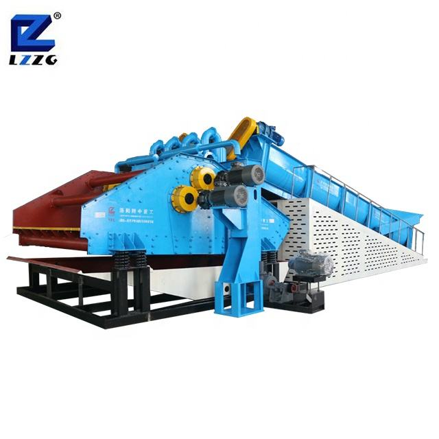 The China first brand LZZG factory price mining compact structure sand washer sand washing plant sand washing machine price