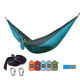 Camping Hammocks Hammock Durability Ultralight Eno Camping Hammocks With Tree Straps Travel 2 Sizes Nylon Parachute Hammock