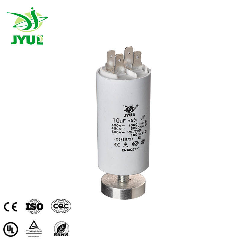 Compressor /& other Motors Run Capacitor CBB60  35±5/%uf 500VAC 50HZ with Screw