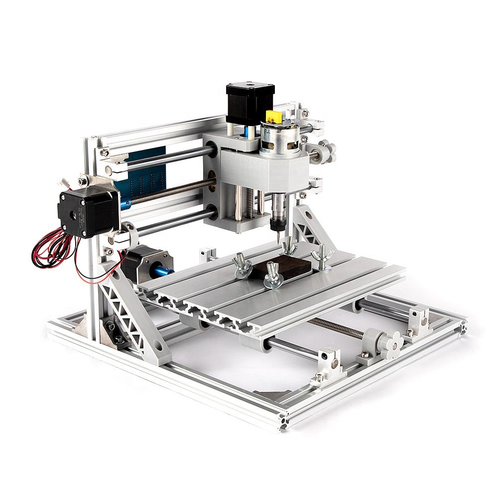 BACHIN good quality 3axis 2418 desktop mini cnc router machine laser wood cutting engraving parts Advanced Toys