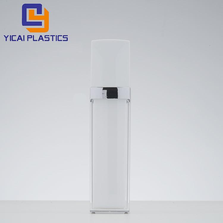 Уникальный монолитным squeeze безвоздушного бутылка косметики пластиковый контейнер