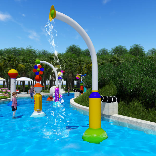 fiberglass Water Park Spray Water Splash Pad Toys for Sale