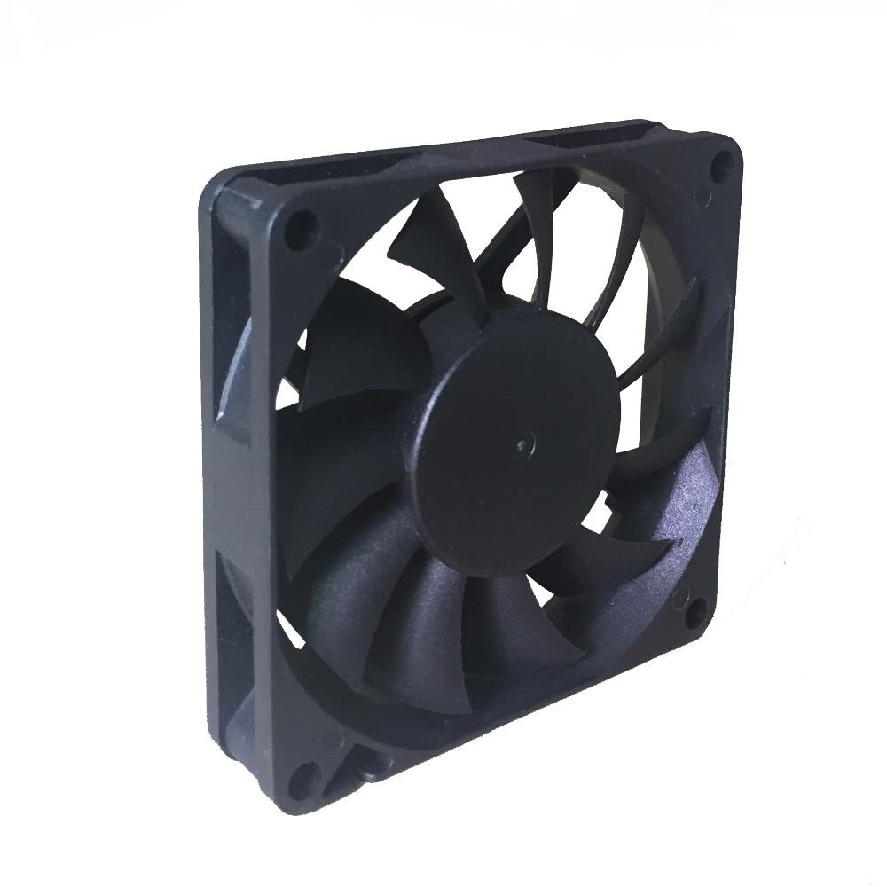 12V 70*70*15mm waterproof mini axial fan 5v dc