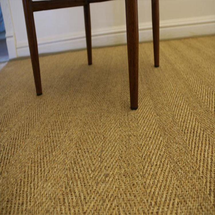 Espinha Sisal Carpetes E Tapetes de Juta Natural Com base em Látex Natural Para Sala de estar