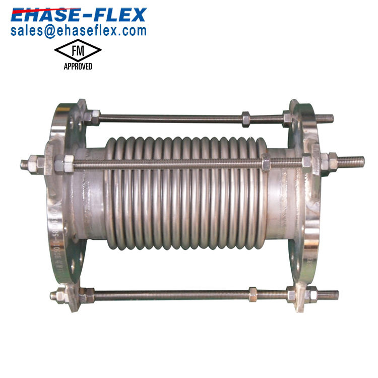 Metal Bellows Expansion Joint With Flange