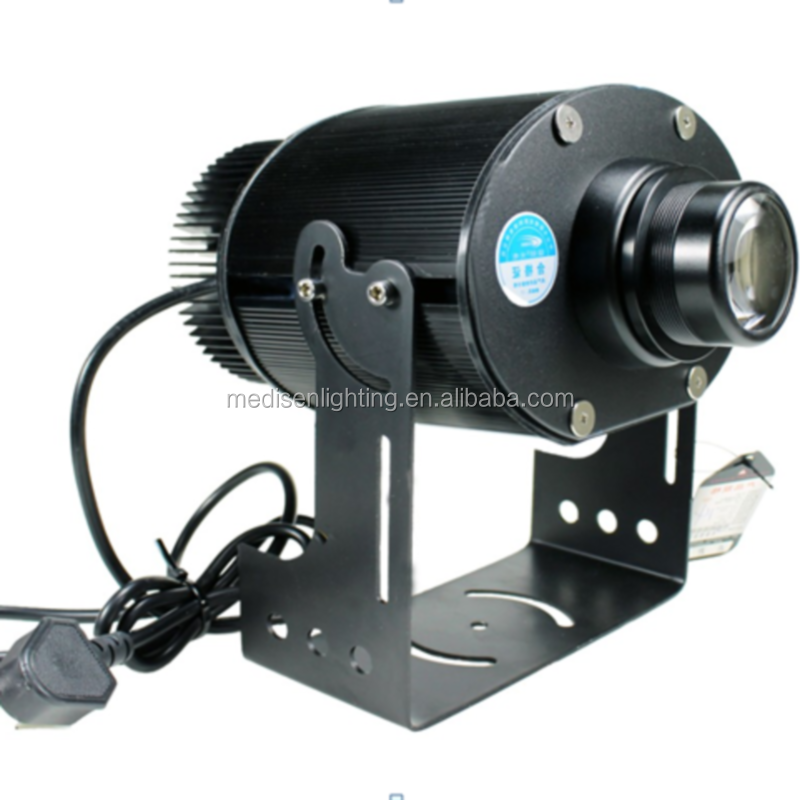 60 watt outdoor waterproof IP65 static led logo gobo projector light 230v