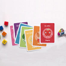 300gram Paper Card Game Playing Cards Offset Printing Customized Kids Flash Cards with Deck Box