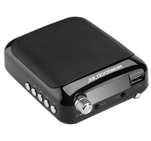 Portable Mini Suara Penguat Mikrofon Speaker Bluetooth dan Speaker Power Terbaik Desktop Pinggang Band Amplifier Nirkabel Mic