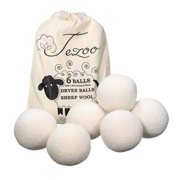 100% New Zealand wool dryer balls bolas de lana laundry balls dryer for laundry