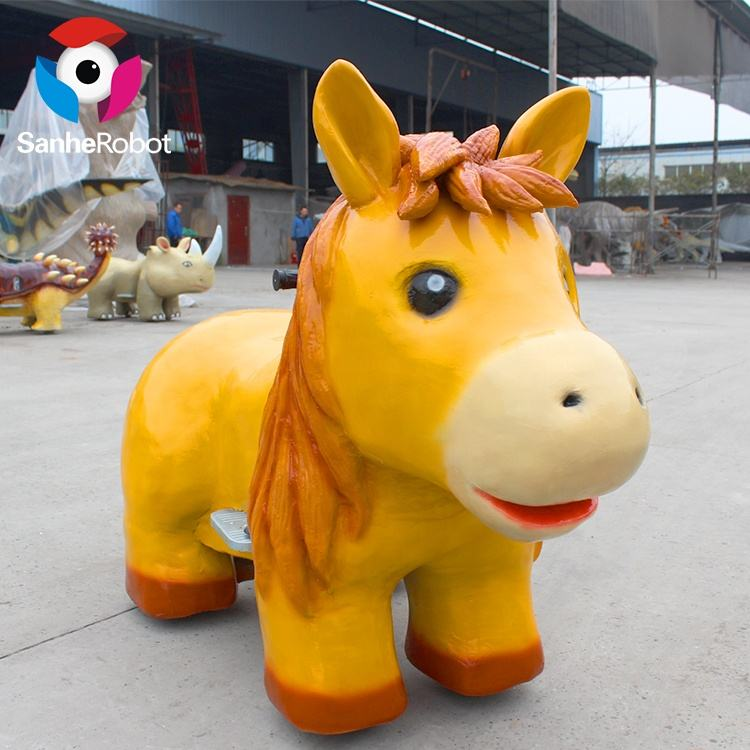 Battery Powered Amusement Park Animal Ride for kids