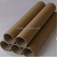 Greeting card paper mailing tube for containing posters