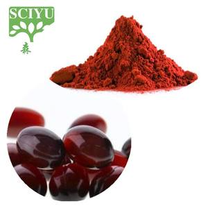 Natural haematococcus pluvialis extract astaxanthin powder 1-10%