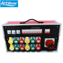 stage light lighting controller console hanging Portable 12Channel 16A waterproof power distributor
