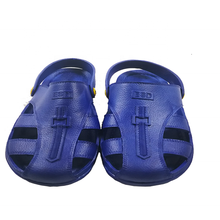 ESD SPU blue toe protect sandals