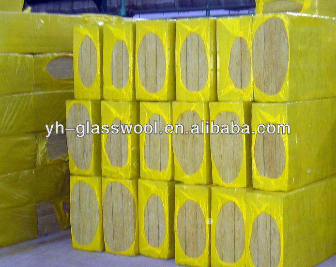 Rock wool board fireproof wall insulation material