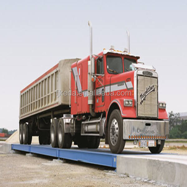 100ton digital all steel U beam structure durable truck scale