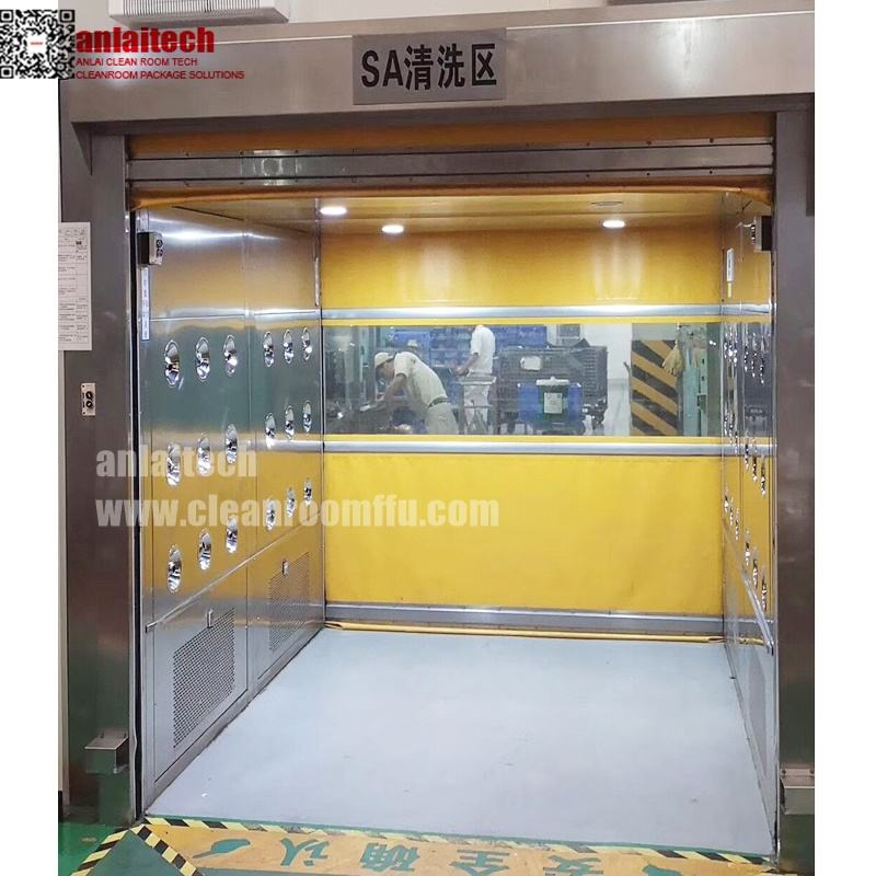Fast Rolling Door Material Air Shower