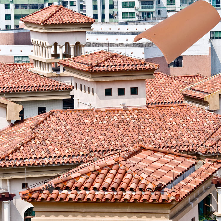 001-A1 terracotta roof tiles building material price