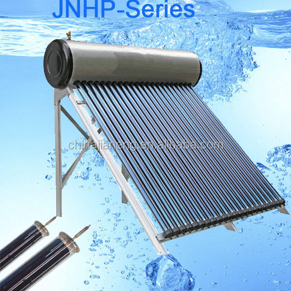 100liter to 300liter Nonpressure Vacuum Tube Stainless Steel Solar Water Heaters/ Factory Direct Sales Good Products