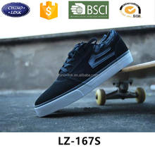 Classic Fashion flat black Footwear men shoes 2017 sport athletic sneaker gym branded man suede leather Skateboard casual shoe