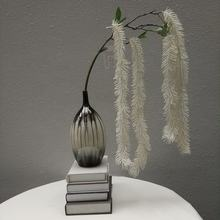 390403800110 white color Centipede Whiskers top seller 2019 artificial plant hanging for nordic style wedding ornamental
