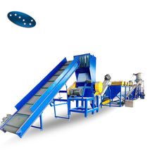 Plastic pet bottle recycling machine/plastic recycling plant/pet bottle washing line