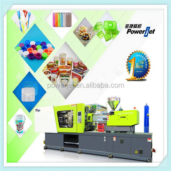 horizontal type injection molding machine with servo system
