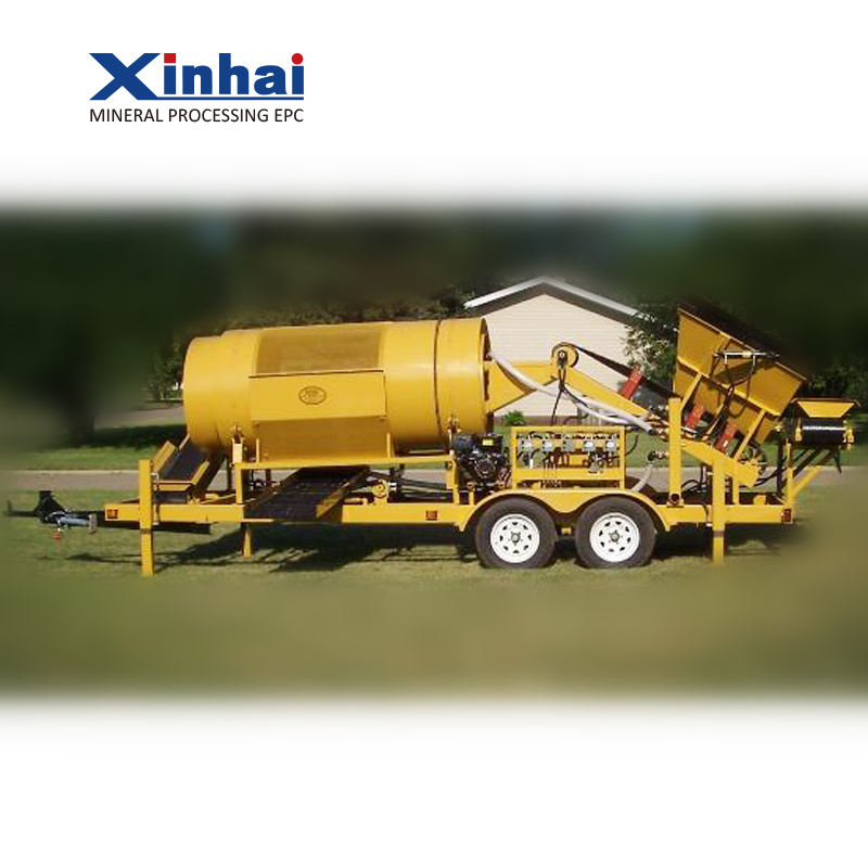 China Gold Mining Trommel Wash Plant For Sale