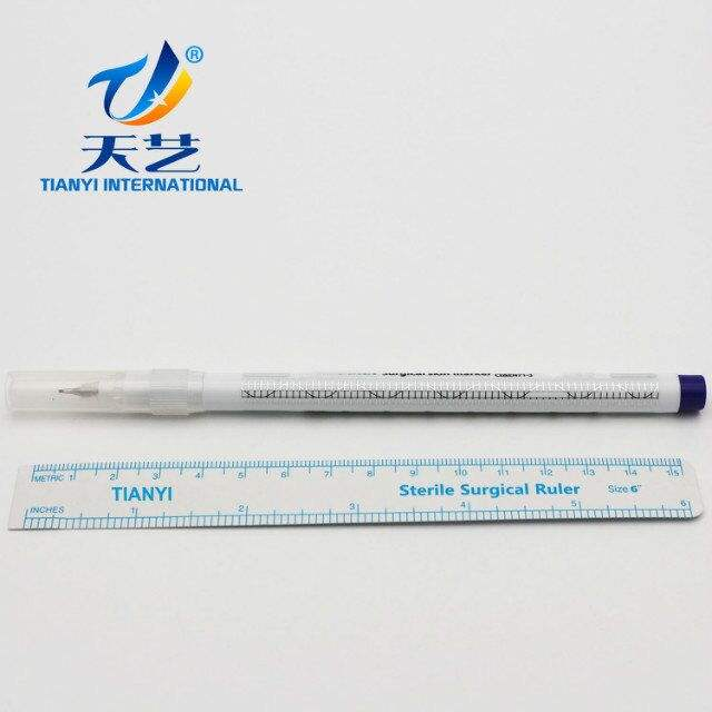 surgical skin marker pen used ot mark the skin of the patient during the medical process
