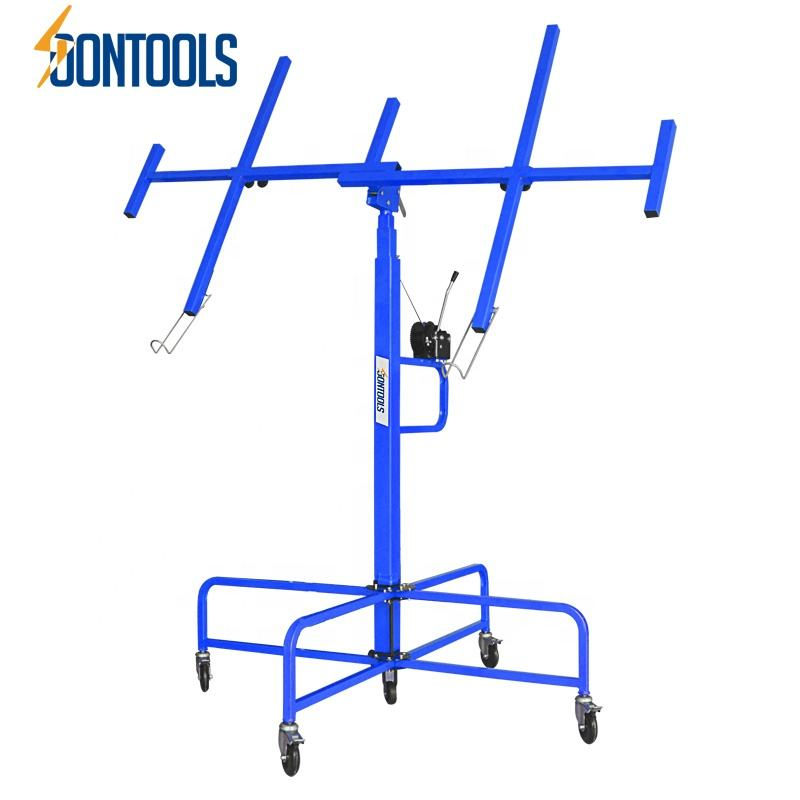 38402 New Drywall panel lifter for install ceiling drywall can be raised by 4 meters