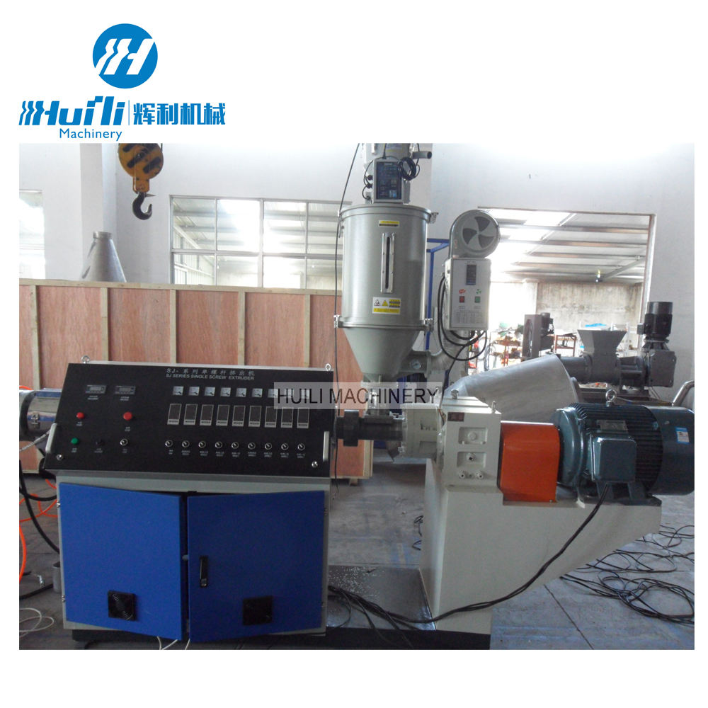 Best sale output 500 kg/h pp/pe/abs corrugated roof sheet making machine board production line one layer tube factory