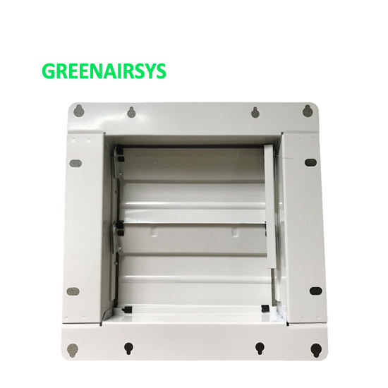 HVAC System Aluminum Pressure Relief Air Louver for Air Exhaust