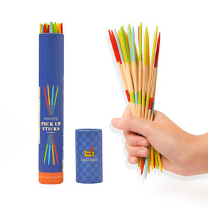 31pcs pick up sticks balance building sticks toys