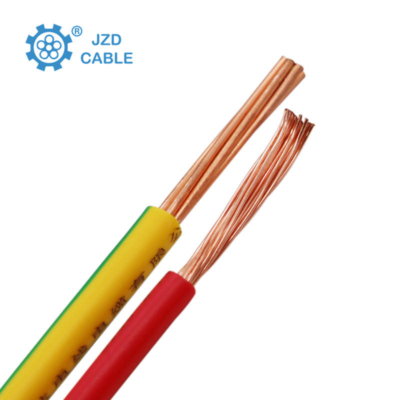 hot PVC jacket Stranded /Flex Copper building wire Electric Cable for home appliances