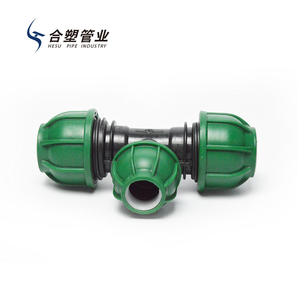 China Manufacturer Quick Connecting Tube Fitting Compression Fittings PE Fittings for Water Supply