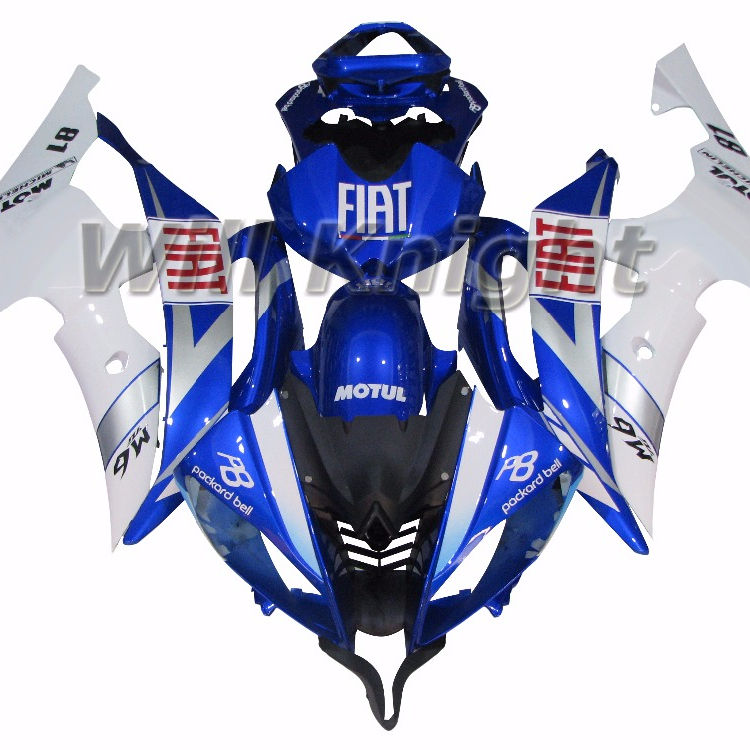 Iniezione Carene Per Yamaha YZF 600 R6 08 09 10 11 12 13 14 ABS Plastic Kit Carenatura del Motociclo YZF600 2008-2014 Body Kit