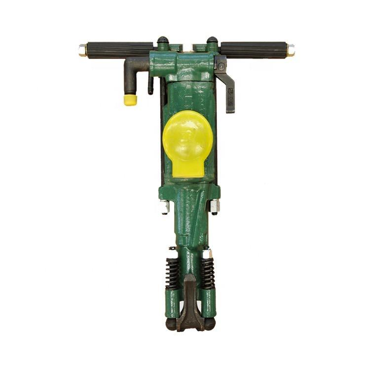 Hand held electric power drilling used pneumatic jack hammer for breaking works