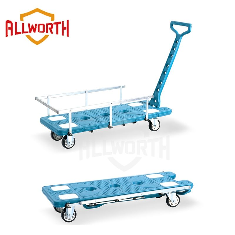 Moving Wagon Silent Cart with Guardrail