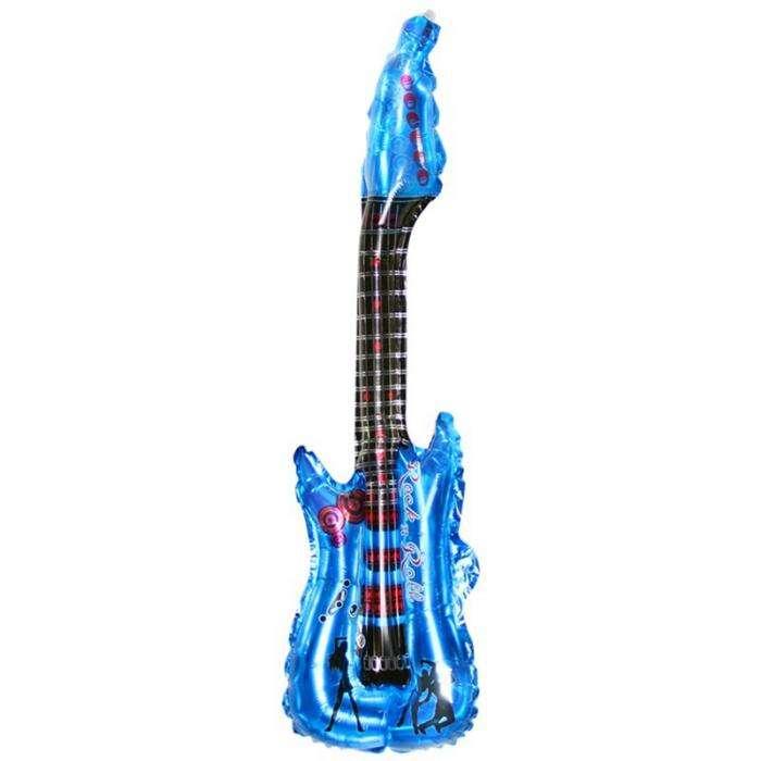 6pcs Large Size 91cm Inflatable Air Guitar Kids Children Toy Blow Up Party