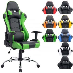 2019 modern workWell PC game chair racing best selling gaming chair office chair with footrest massage and height adjustable