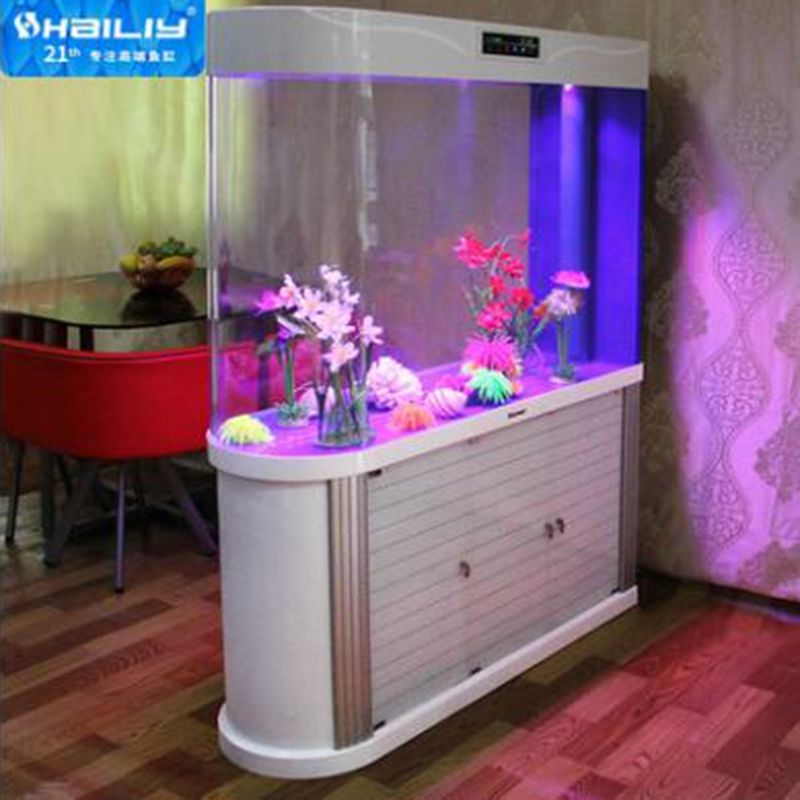 HaiLiy factory wholesale luxury clear akrilik akvaryum fish tank acrylic aquarium
