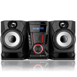 2018 hot new products hi-fi woofer professional stage multimedia active speaker system