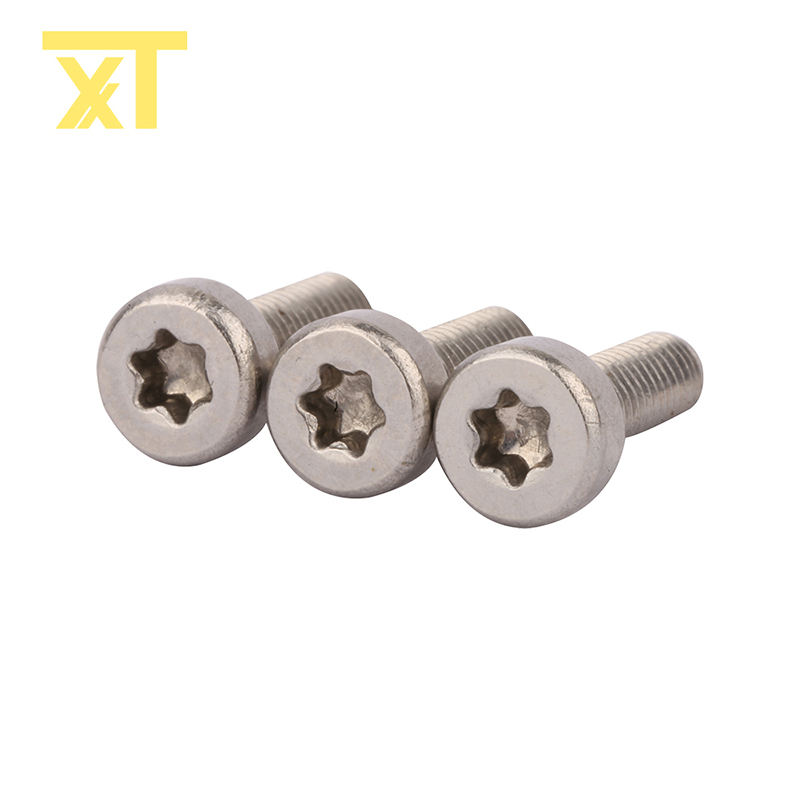 Torx socket cylindrical flat head triangle self-tapping screw