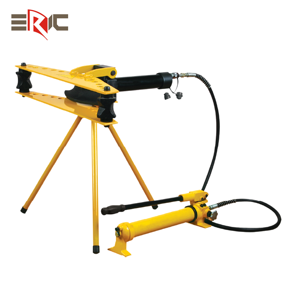 2 3 4 inch horizontal pipes bending tools manual hand hydraulic iron tube pipe bender machine with hydraulic pump