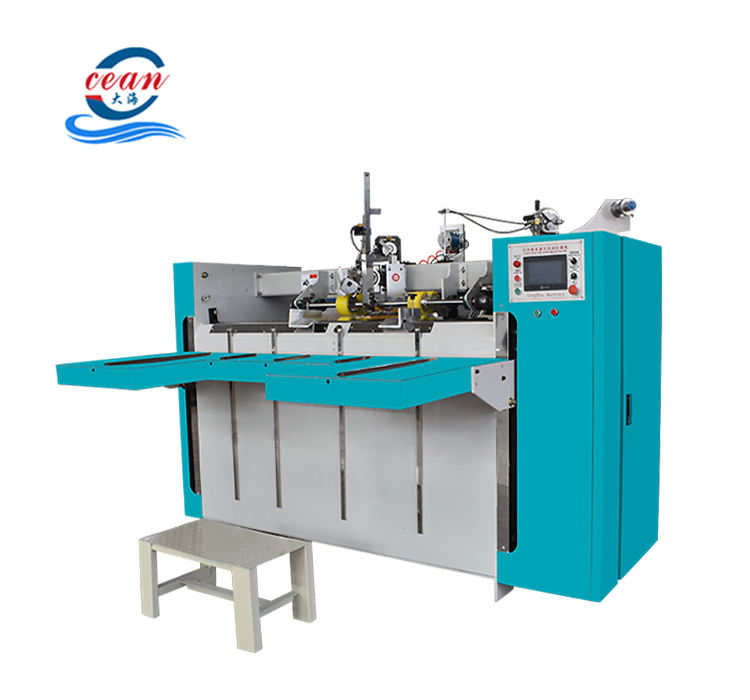 Corrugated paperboard stitching machne/cardboard stitching machine/carton box forming machine